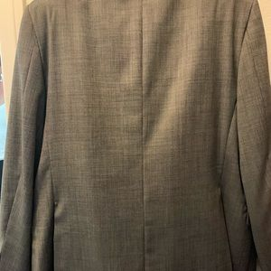 Hickey Freeman Gray Suit MINT condition!